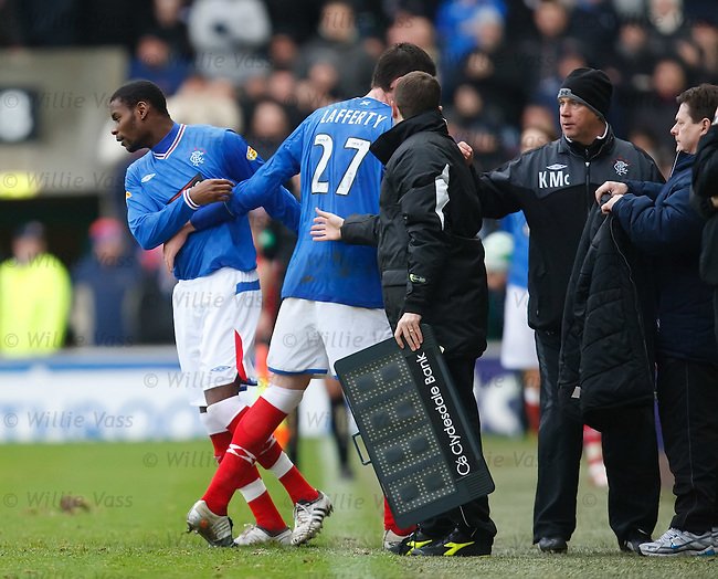 Maurice Edu makes his first appearance of the season
