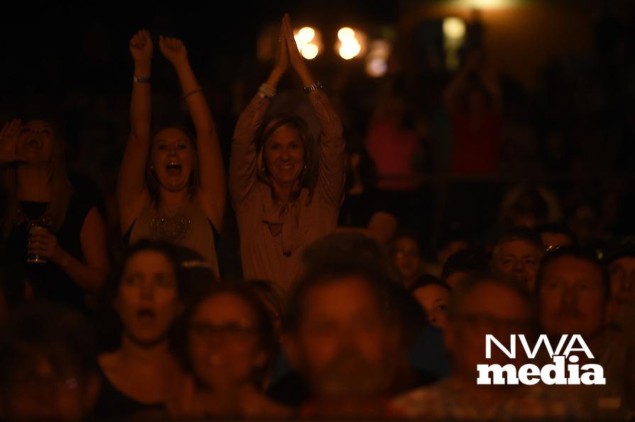 NWA Democrat-Gazette/MICHAEL WOODS &bull; @NWAMICHAELW<br /> Styx performs at the Arkansas Music Pavilion       Thursday, September 1, 2016.