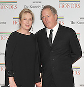Washington, DC - December 5, 2009 -- Meryl Streep and Donald Grummer arrive for the formal Artist's Dinner at the United States Department of State in Washington, D.C. on Saturday, December 5, 2009..Credit: Ron Sachs / CNP.(RESTRICTION: NO New York or New Jersey Newspapers or newspapers within a 75 mile radius of New York City)