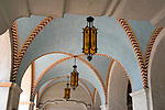 Detail of entry to the Mission Play Theater built in 1922 in San Gabriel, CA.