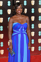 Viola Davis at the 2017 EE British Academy Film Awards (BAFTA) held at The Royal Albert Hall, London, UK. <br /> 12 February  2017<br /> Picture: Steve Vas/Featureflash/SilverHub 0208 004 5359 sales@silverhubmedia.com