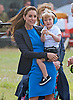 Prince George, Kate Middleton & Prince William At Air Show 2