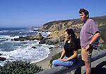 Visitors at Bodega Head