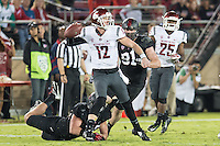 Stanford Football vs Washington State Cougars, October, 10, 2014