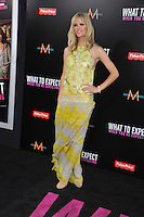 Actress Brooklyn Decker arrives at the premiere of 'What To Expect When You're Expecting' held at Grauman's Chinese Theatre in Hollywood.