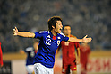 Mizuki Hamada (JPN),.NOVEMBER 27, 2011 - Football / Soccer : Men's Asian Football Qualifiers Final Round for London Olympic Match between U-22 Japan 2-1 U-22 Syria at National Stadium in Tokyo, Japan. (Photo by Jun Tsukida/AFLO SPORT) [0003] .