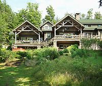 Log cabin - Adirondacks, USA