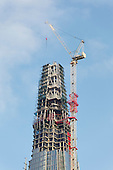 The Shard construction work progressed quickly during 2011. This image was taken in December 2011. On completion this will be the highest building in Europe (for the time being of course) The Opening of the Shard is on the 5th of June 2012.<br />