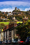 """Mow Cop Castle, Staffordshire, UK..Mow Cop Castle, a folly build by Randle Wilbraham in 1754, holds the dubious distinction of being the only British folly to have been taken to court. The castle encroached on the land of a neighboring Sneyd family. The Sneyds were not happy with that arrangement and took the Wilbrahams to court, where a lengthy and costly legal battle ensued. """"In the end the judge ruled that the two families share the castle on alternative weekends, while during the week it would be made accessible to the general public,"""" says Sir Richard Baker-Wilbraham, a descendent of Randle."""