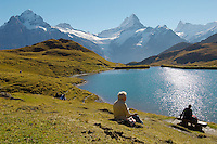Grindelwald First Lake- Picnic- Bernese Alps - Switzerland