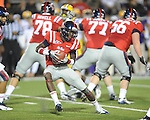 Ole Miss' Nickolas Brassell (2) vs. LSU at Vaught-Hemingway Stadium in Oxford, Miss. on Saturday, November 19, 2011..