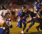 Oxford High's Jarius Barnes (1) vs. New Hope in high school football in Oxford, Miss. on Friday, September 28, 2012. Oxford won 29-17 to improve to 6-0.