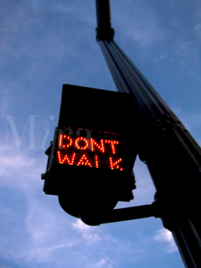 On June 17, 2003 city traffic lights flashed in Providence,  Rhode Island, USA