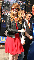 JUL 16 Emma Stone at Late Show with David Letterman NY