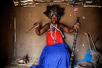 Witchdoctor Erita Botao (30), was possessed in 1986 by a spirit of a Zimbabwean woman Isabel, who was killed by Erita's grandfather.
