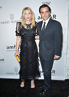 LOS ANGELES, CA. October 27, 2016: Courtney Love &amp; Nicholas Jarecki at the 2016 amfAR Inspiration Gala at Milk Studios, Los Angeles.<br /> Picture: Paul Smith/Featureflash/SilverHub 0208 004 5359/ 07711 972644 Editors@silverhubmedia.com