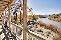 Los Luceros is a grand historical hacienda and home site on the Rio Grande River in the Espanola Valley near the village of Alcalde, New Mexico