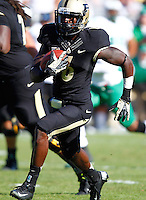 WEST LAFAYETTE, IN - SEPTEMBER 29: Gary Bush #6 of the Purdue Boilermakers runs the ball against the Marshall Thundering Herd at Ross-Ade Stadium on September 29, 2012 in West Lafayette, Indiana. (Photo by Michael Hickey/Getty Images) *** Local Caption *** Gary Bush