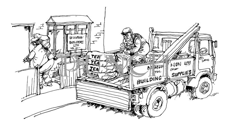 Building Construction Cartoon : Martin honeysett cartoons from punch magazine
