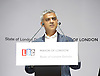 Sadiq Khan<br /> Mayor of London <br /> State of London debate hosted by LBC <br /> at The O2 Arena, London, Great Britain <br /> 30th July 2016 <br /> <br /> <br /> Sadiq Khan <br /> speech <br /> <br /> <br /> Photograph by Elliott Franks <br /> Image licensed to Elliott Franks Photography Services