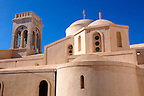 The Catholic Church of Naxos Castle - Greek Cyclades Islands