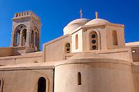 The Catholic Church of Naxos Castle - Greek Cyclades Islands