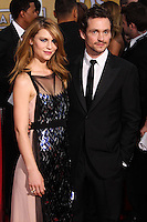 LOS ANGELES, CA - JANUARY 18: Claire Danes, Hugh Dancy at the 20th Annual Screen Actors Guild Awards held at The Shrine Auditorium on January 18, 2014 in Los Angeles, California. (Photo by Xavier Collin/Celebrity Monitor)