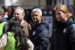 10 April 2016: U.S. Soccer Federation President Sunil Gulati. The United States Women's National Team played the Colombia Women's National Team at Talen Energy Stadium in Chester, Pennsylvania in an women's international friendly soccer game. The U.S. won the match 3-0.