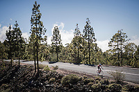 Team Trek-Segafredo winter training camp with Alberto Contador up the Tiede Volcano in Tenerife<br /> <br /> january 2017, Tenerife/Spain