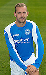 St Johnstone FC Season 2012-13 Photocall.Rowan Vine.Picture by Graeme Hart..Copyright Perthshire Picture Agency.Tel: 01738 623350  Mobile: 07990 594431