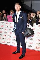 Andrew 'Freddie' Flintoff at the National TV Awards 2017 held at the O2 Arena, Greenwich, London. <br /> 25th January  2017<br /> Picture: Steve Vas/Featureflash/SilverHub 0208 004 5359 sales@silverhubmedia.com