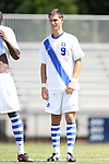 31 August 2014: Duke's Brody Huitema (CAN). The Duke University Blue Devils hosted the Stetson University Hatters at Koskinen Stadium in Durham, North Carolina in a 2014 NCAA Division I Men's Soccer match. Duke won the game 8-2.