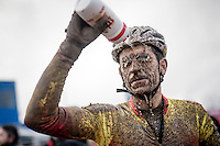 Post-race wash <br /> <br /> Elite Men's Race<br /> UCI 2017 Cyclocross World Championships<br /> <br /> january 2017, Bieles/Luxemburg