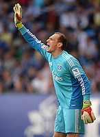 FUSSBALL   1. BUNDESLIGA   SAISON 2012/2013    32. SPIELTAG Hamburger SV - VfL Wolfsburg          05.05.2013 Jaroslav Drobny (Hamburger SV)