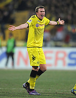 FUSSBALL   1. BUNDESLIGA  SAISON 2011/2012   20. Spieltag 1. FC Nuernberg - Borussia Dortmund         03.02.2012 Kevin Grosskreutz (Borussia Dortmund)
