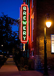 Brewery Neon Sign, Toledo, Ohio