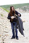 Naomi Mendenhall On Beach Cleanup