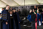 May 19, 2014. Winston Salem, North Carolina.<br />  At intermission, Abramson greeted fans and friends.<br />  Former New York Times Executive Editor Jill Abramson gave the commencement address and handed diplomas to graduating students at Wake Forest University.