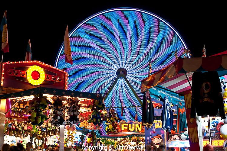 Evergreen State Fair Ferris Wheel