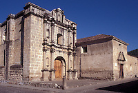 The Capuchinas Church and Convent in the Spanish Colonial city of Antigua, Guatemala
