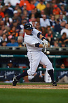 May 2, 2009:    #15 Brandon Inge of the  Detroit Tigers in action during the MLB game between Cleveland Indians and Detroit Tigers at Comerica Park, Detroit, Michigan. (Credit Image: Rick Osentoski/Cal Sport Media)