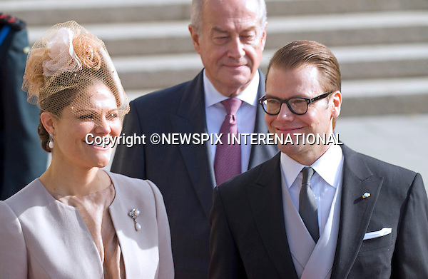 "PRINCESS VICTORIA AND PRINCE DANIEL OF SWEDEN.Religious Wedding Ceremony of HRH the Hereditary Grand Duke and Countess Stéphanie de Lannoy at Cathedral of Our lady of Luxembourg, Luxembourg_20-10-2012.Mandatory credit photo: ©Dias/NEWSPIX INTERNATIONAL..(Failure to credit will incur a surcharge of 100% of reproduction fees)..                **ALL FEES PAYABLE TO: ""NEWSPIX INTERNATIONAL""**..IMMEDIATE CONFIRMATION OF USAGE REQUIRED:.Newspix International, 31 Chinnery Hill, Bishop's Stortford, ENGLAND CM23 3PS.Tel:+441279 324672  ; Fax: +441279656877.Mobile:  07775681153.e-mail: info@newspixinternational.co.uk"