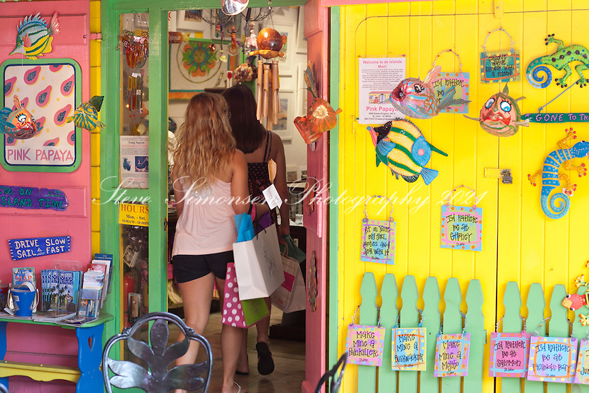 Pink Papaya<br /> Cruz Bay, St. John<br /> U.S. Virgin islands