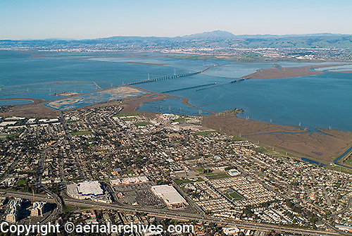 aerial photograph East Palo Alto, Santa Clara county, California