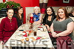 30th Birthday : Sandra Lynch, Ballydonoghue celebrating her 30th birthday with family at Eabha Joan's Restaurant, Listowel on Saturday night kast. L-R: Joanna Ryan, Marina, Nora, Sandra & Ciara Lynch.