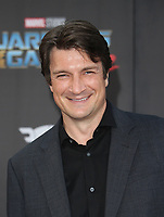 """HOLLYWOOD, CA - April 19: Nathan Fillion, At Premiere Of Disney And Marvel's """"Guardians Of The Galaxy Vol. 2"""" At The Dolby Theatre  In California on April 19, 2017. Credit: FS/MediaPunch"""