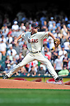 6 September 2009: Cleveland Indians' relief pitcher Kerry Wood closes out a game against the Minnesota Twins at Progressive Field in Cleveland, Ohio. The Indians defeated the Twins 3-1 to take the rubber match of their three-game weekend series. Mandatory Credit: Ed Wolfstein Photo