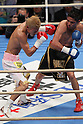 (L to R) Eduardo Darcia (MEX), Tomoki Kameda (JPN), December 7, 2011 - Boxing : Tomoki Kameda of Japan and Eduardo Darcia of Mexico during the 10R 55.0kg weight bout at Osaka Prefectural Gymnasium in Osaka, Japan. (Photo by Akihiro Sugimoto/AFLO SPORT) [1080]