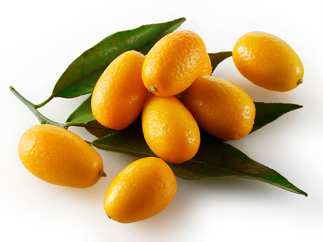 Kumquats Citrus Fruit food photography, picture & image