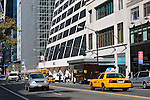 street scene on west 42nd street in New york City in October 2008